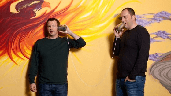 Brian Acton e Jan Koum. WhatsApp Messenger