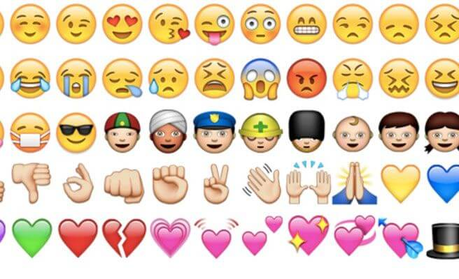 WhatsApp Messenger emojis