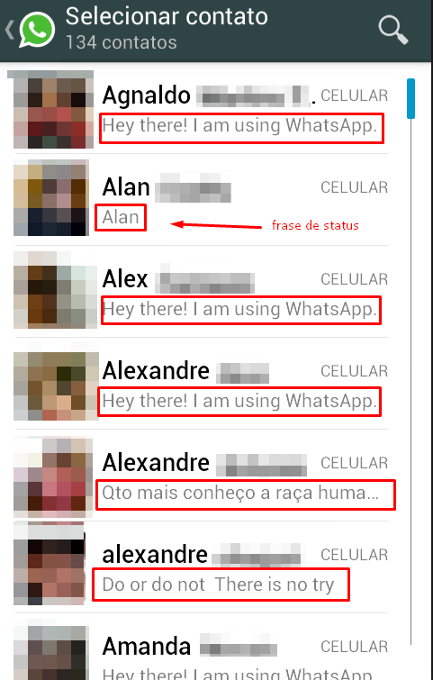 Como Colocar Frases De Status Para Whatsapp