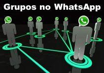Como criar grupos de whatsapp