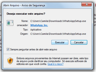 1. Como baixar e instalar Whatsapp para PC e Mac FIG3